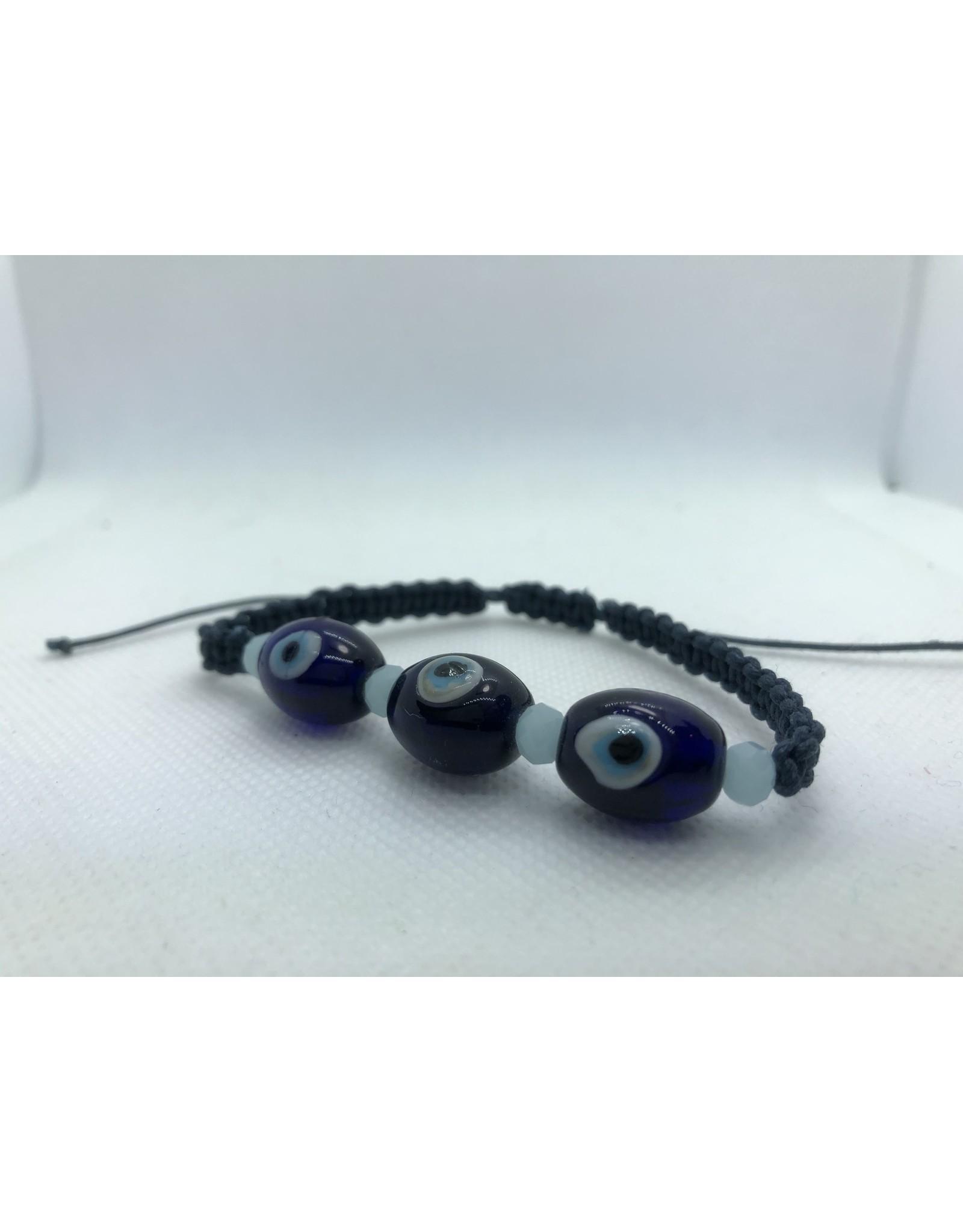 Glass Evil Eye Bracelet