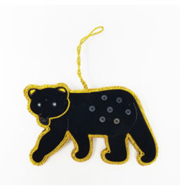Black Bear Ornament, India