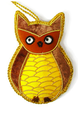 Woodland Owl Ornament