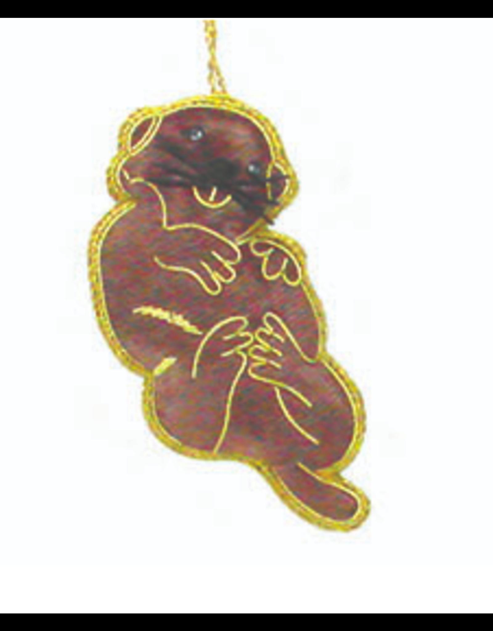 Sea Otter Ornament, India