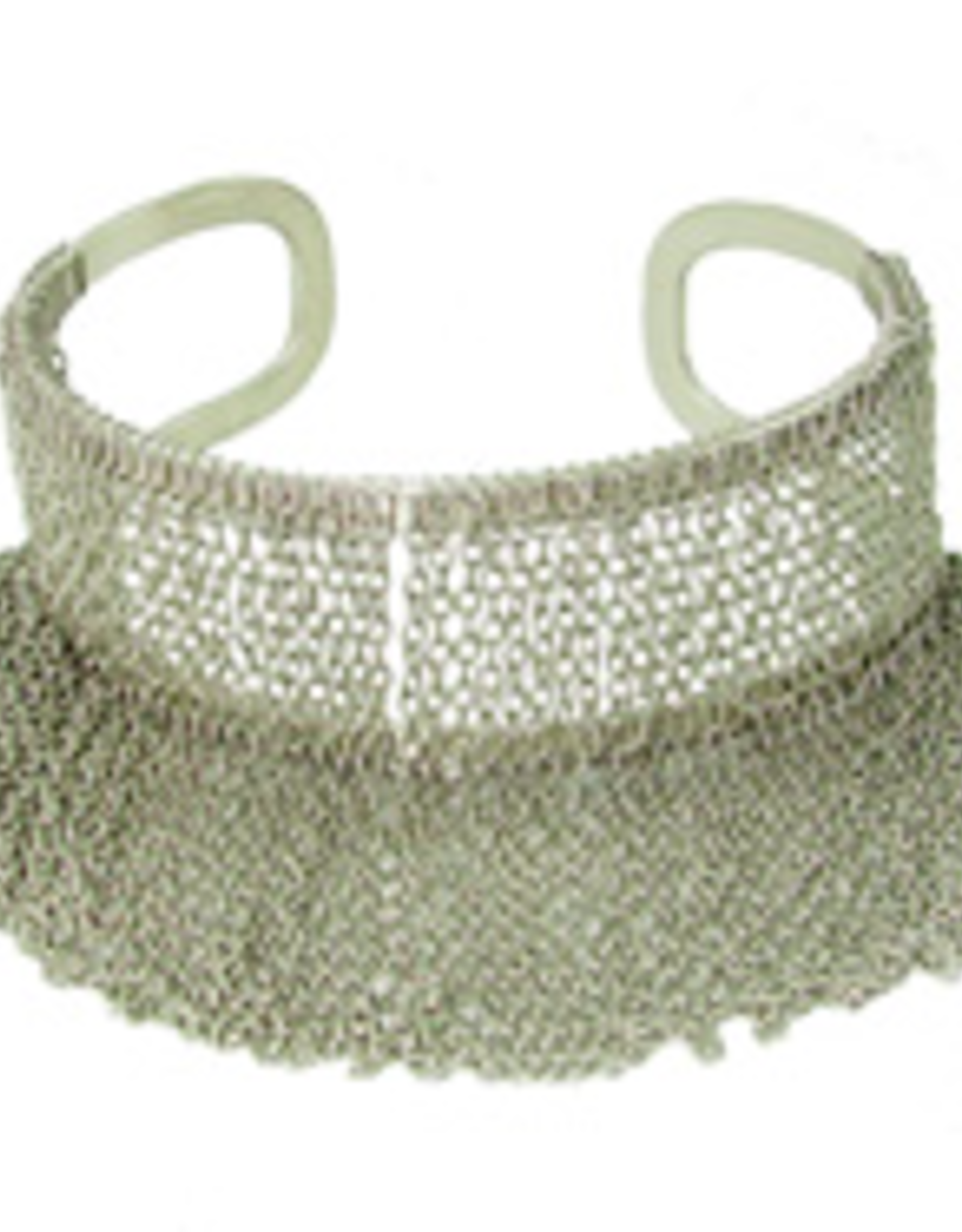 Fringed Chain Cuff
