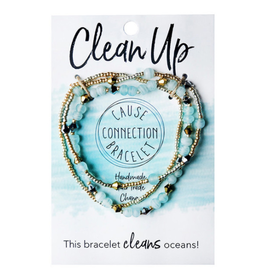 Cause Connection Bracelet, Clean Up, India