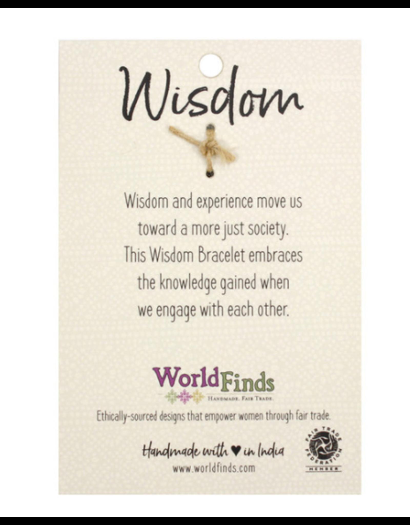 Kantha Connection Bracelet, Wisdom