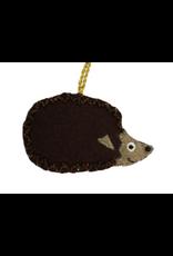 Felted Hedgehog Ornament, India
