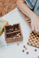 2 in 1, Rosewood Game Set