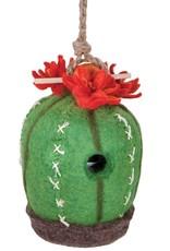 Nepal, Birdhouse Barrel Cactus