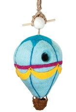 Nepal, Felt Birdhouse Hot Air Balloon