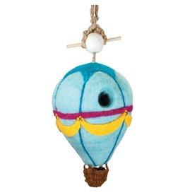 Nepal, Felt Birdhouse Hot Air Balloon