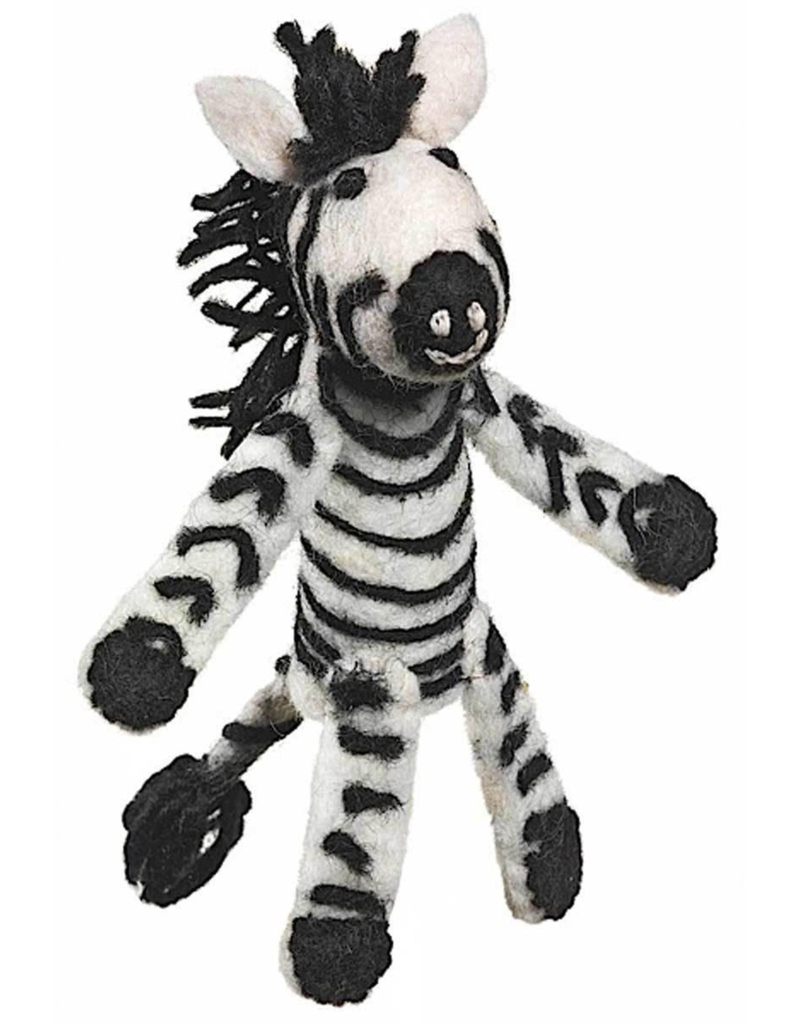 Finger Puppet Zebra