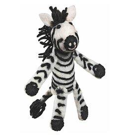 Finger Puppet, Zebra