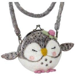 Felt Critter Clutch, Owl