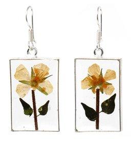 Nahua Flower Earrings