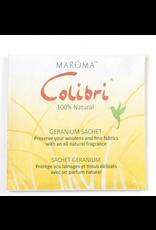 Maroma Colibri Geranium Sachet square