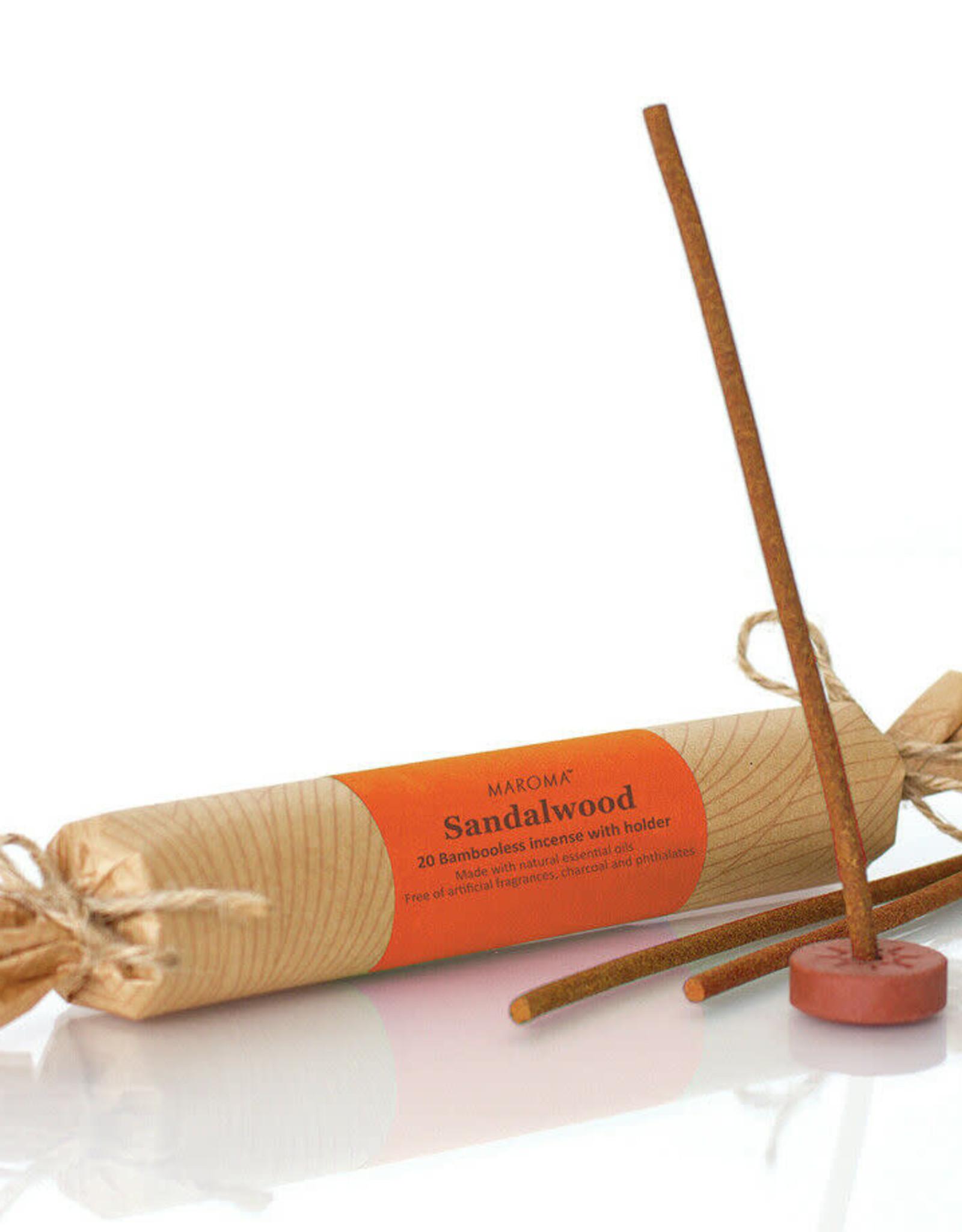 India, Bambooless Incense Sandalwood