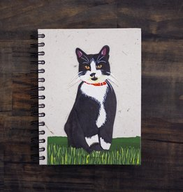 Large Notebook, Cat Socks