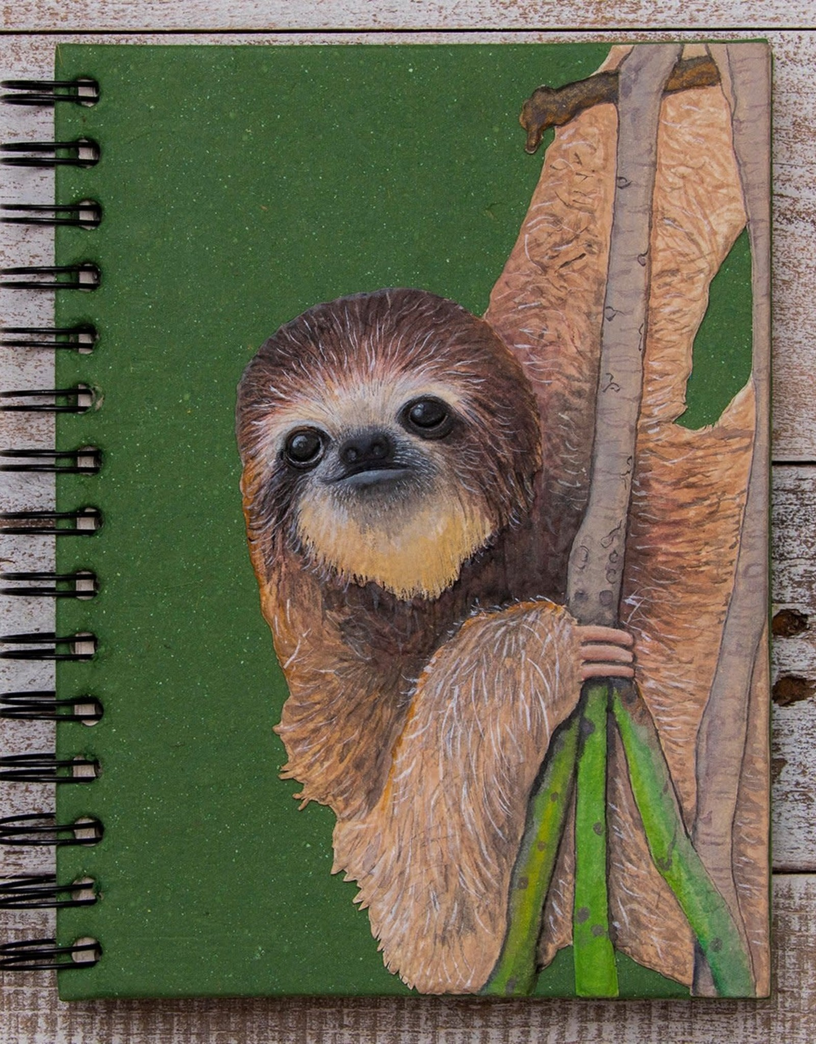 Large Notebook, Sloth