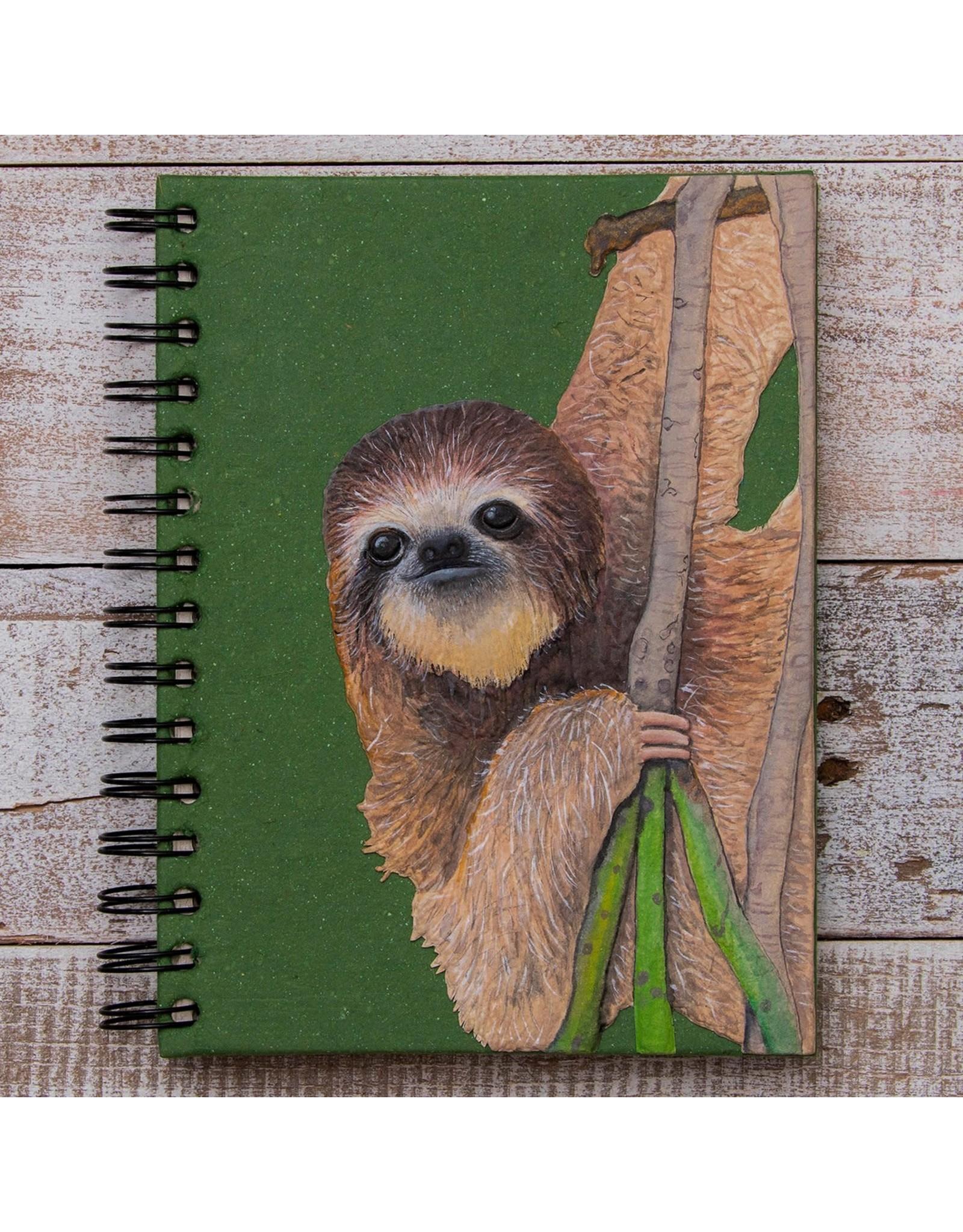 Large Notebook, Sloth, Sri Lanka