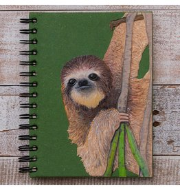 Large Notebook, Sloth, Sri Lanka