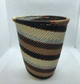 South Africa Telephone Wire Pencil Cup Mocha
