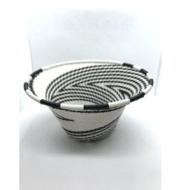 Telephone Wire Cone Bowl  African Eclipse