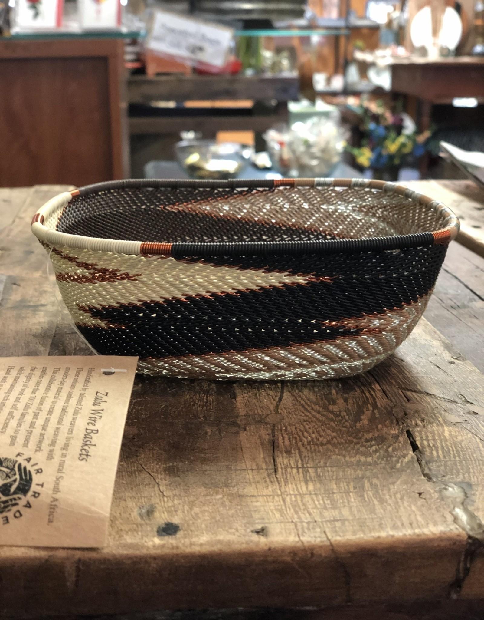 Medium Square Bowl, Mocha
