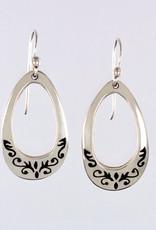 Small Sterling Silver Drop Earrings