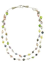 Layered Pearl Circus Necklace