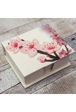 Note Box, Cherry Blossom, Sri Lanka