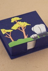 Note Box, Mama and Baby Dark Blue