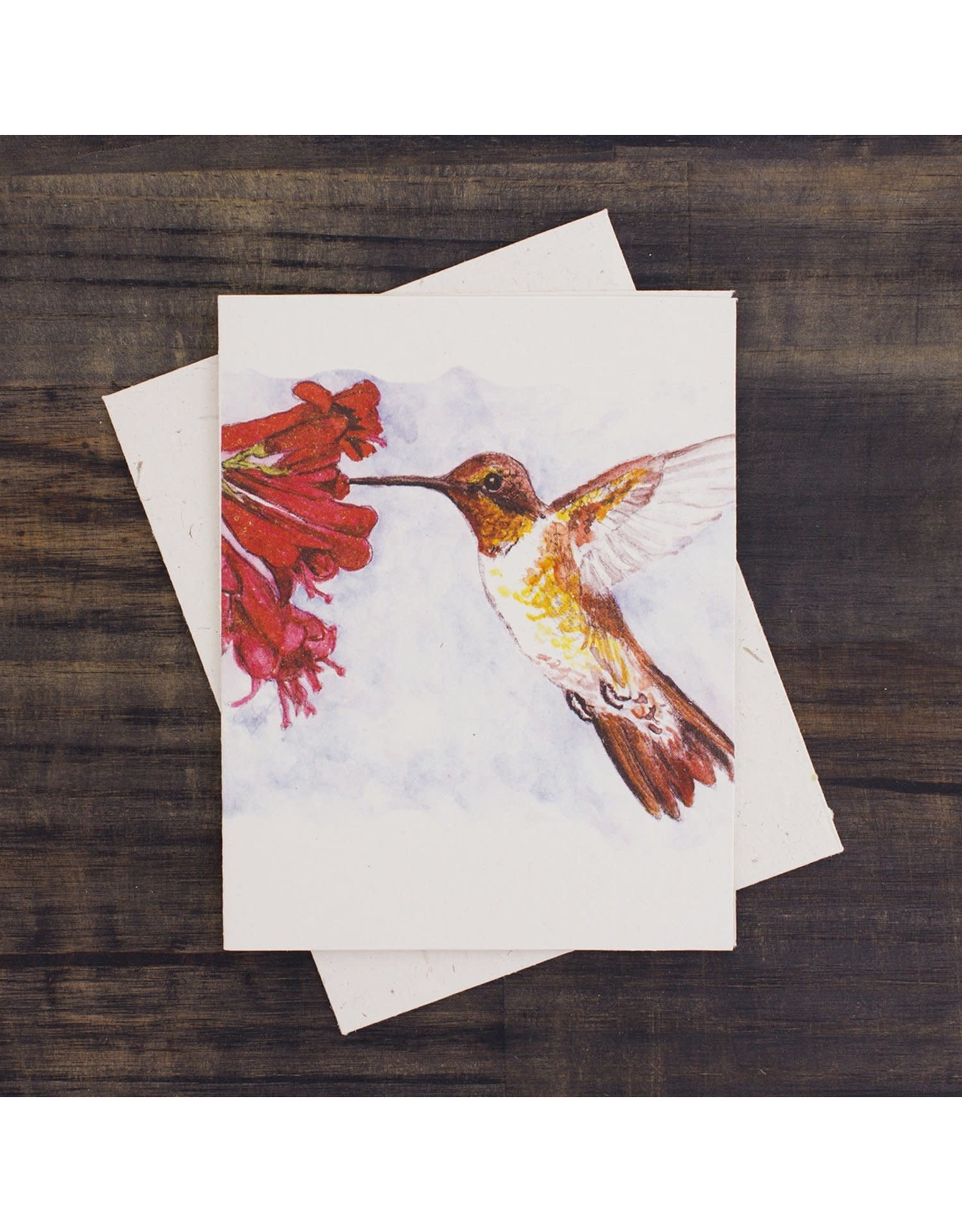 Hummingbird Greeting Card, Sri Lanka