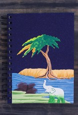 Large Notebook, Elephant on Midnight