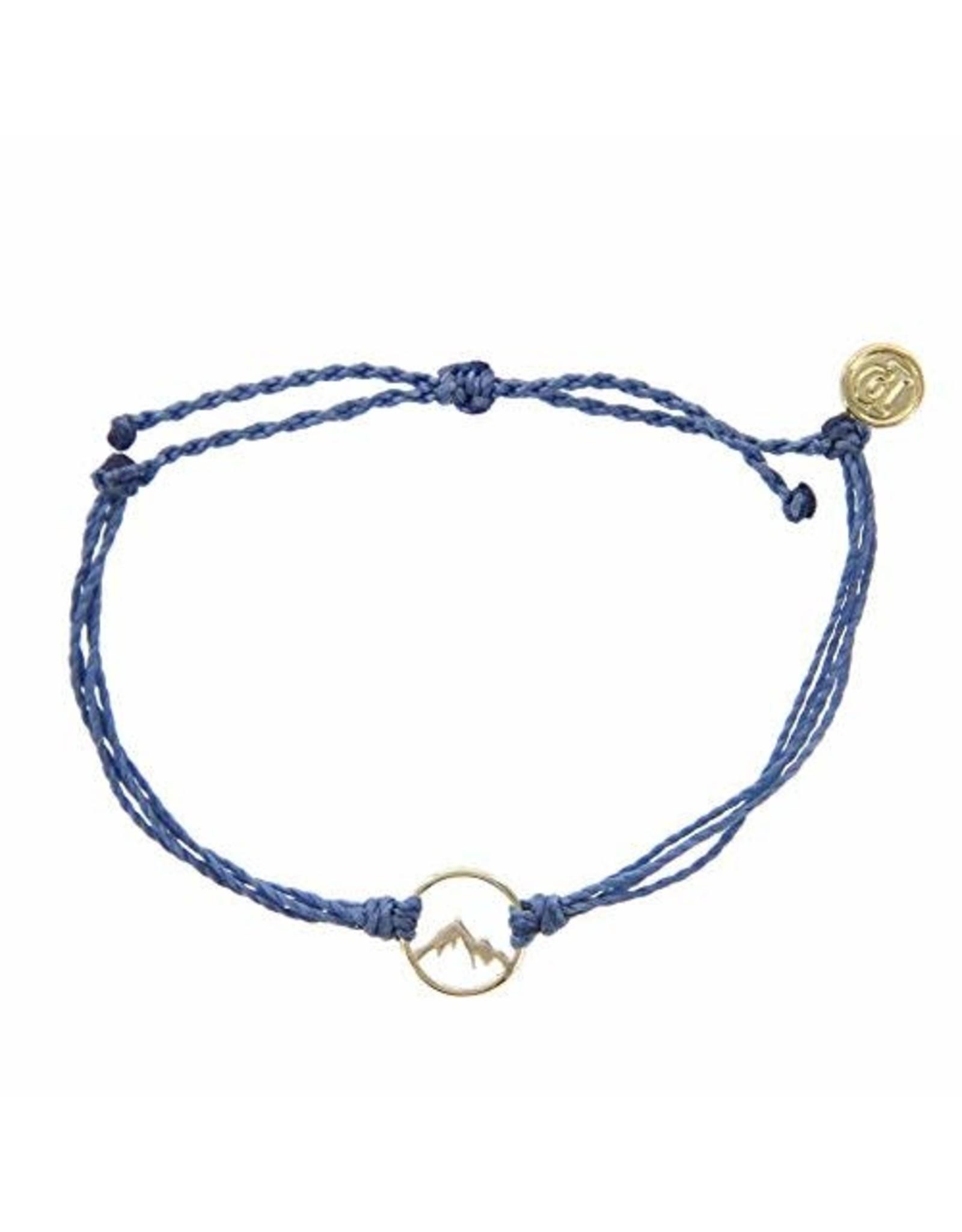 GOLD SIERRA bracelet, DENIM