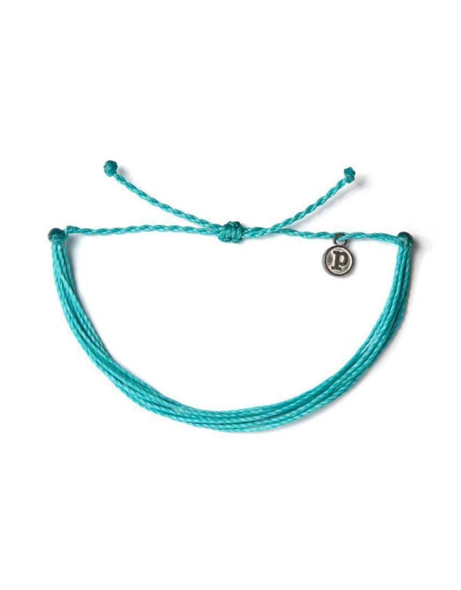 Pura Vida, Original Bracelet, Seafoam Blue
