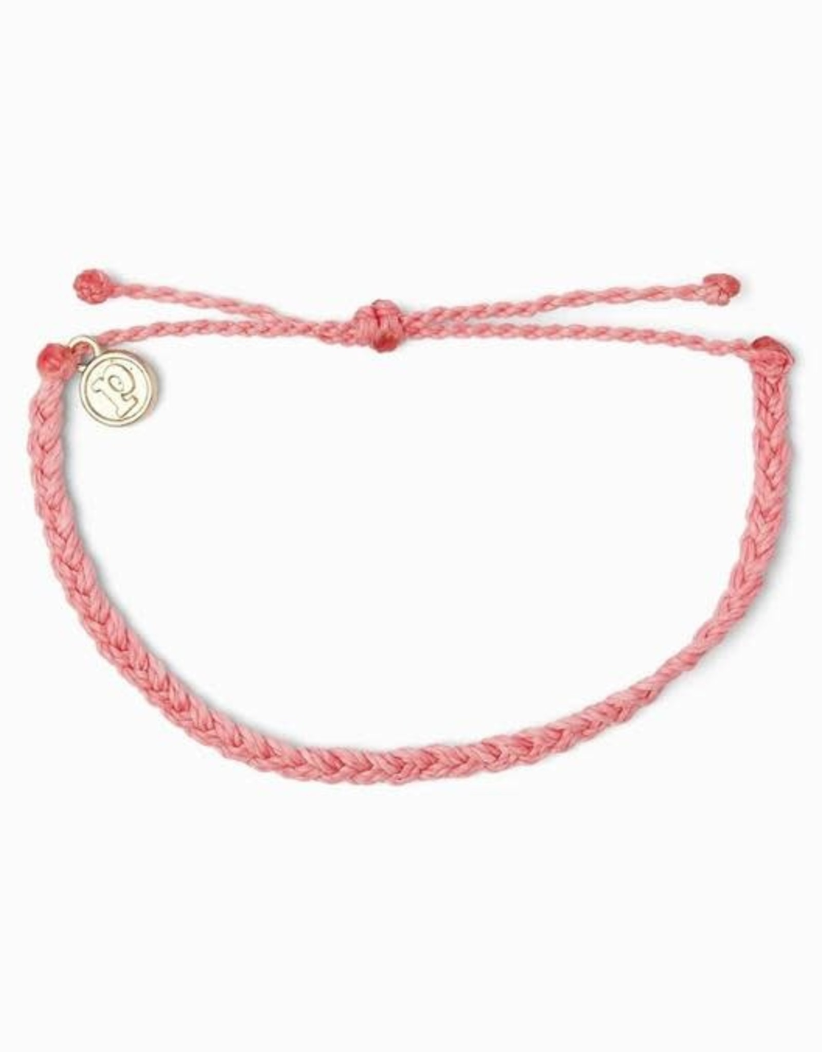 MINI BRAIDED SOLID Bracelet, STRAWBERRY