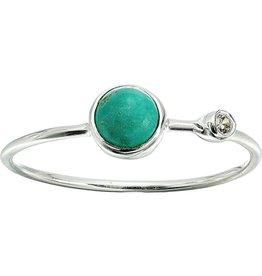 Pura Vida Turquoise Double Stone Ring