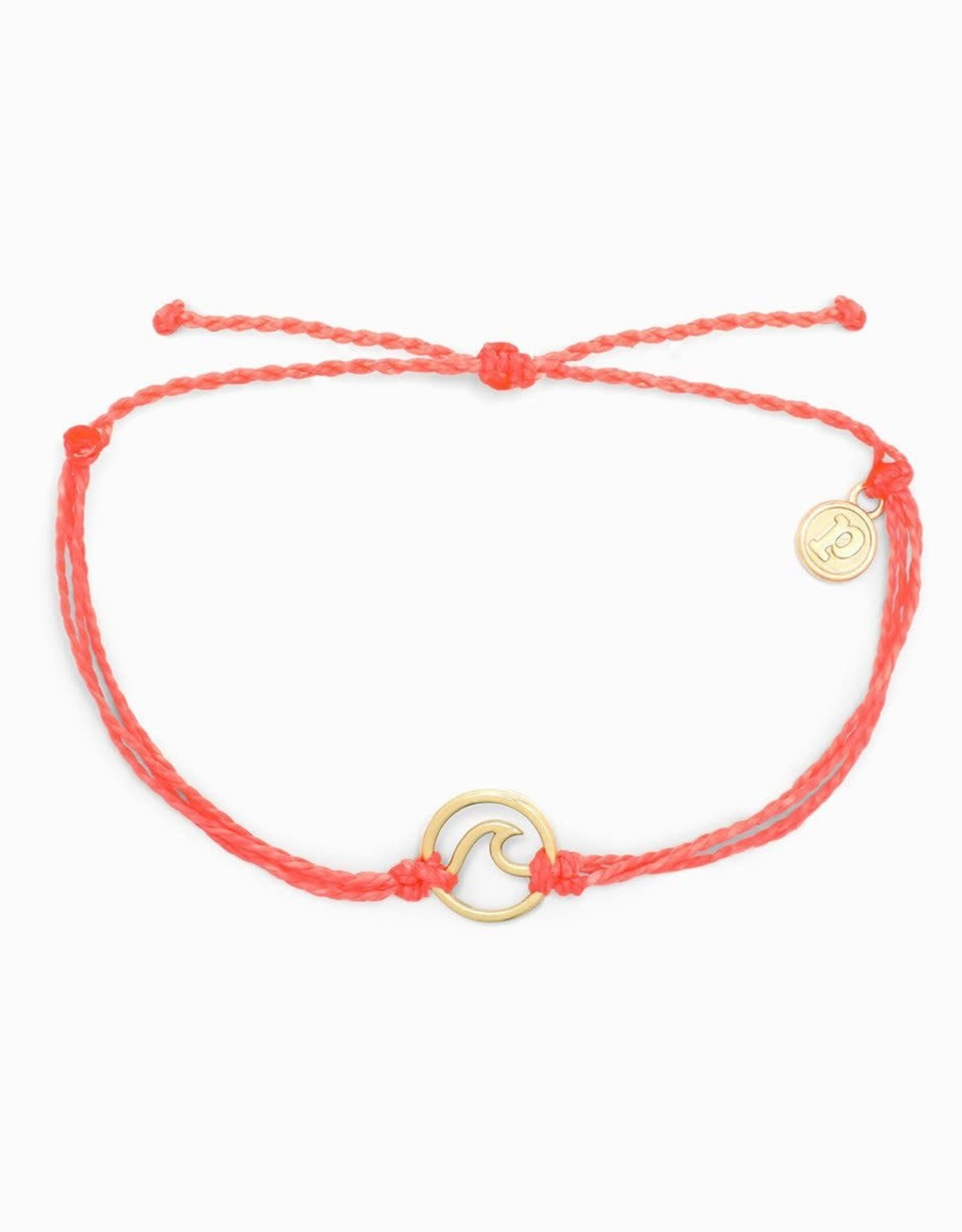 ROSE GOLD WAVE Bracelet, SALMON