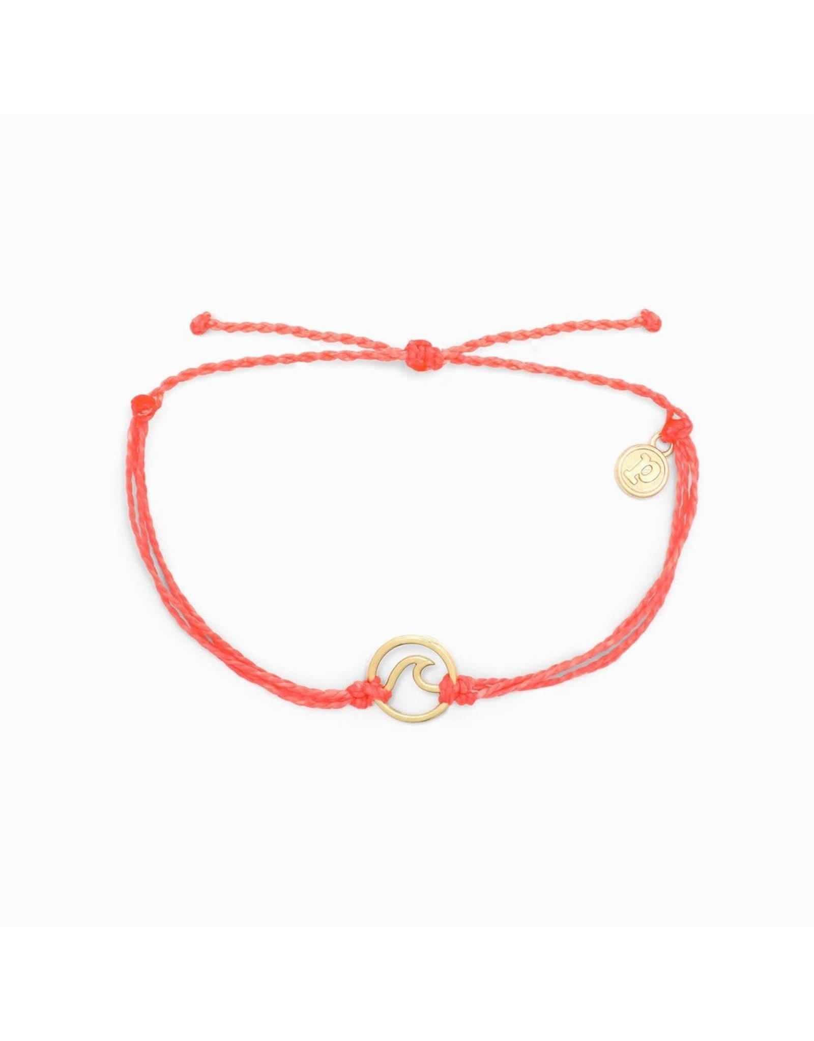 ROSE GOLD WAVE Bracelet, SALMON