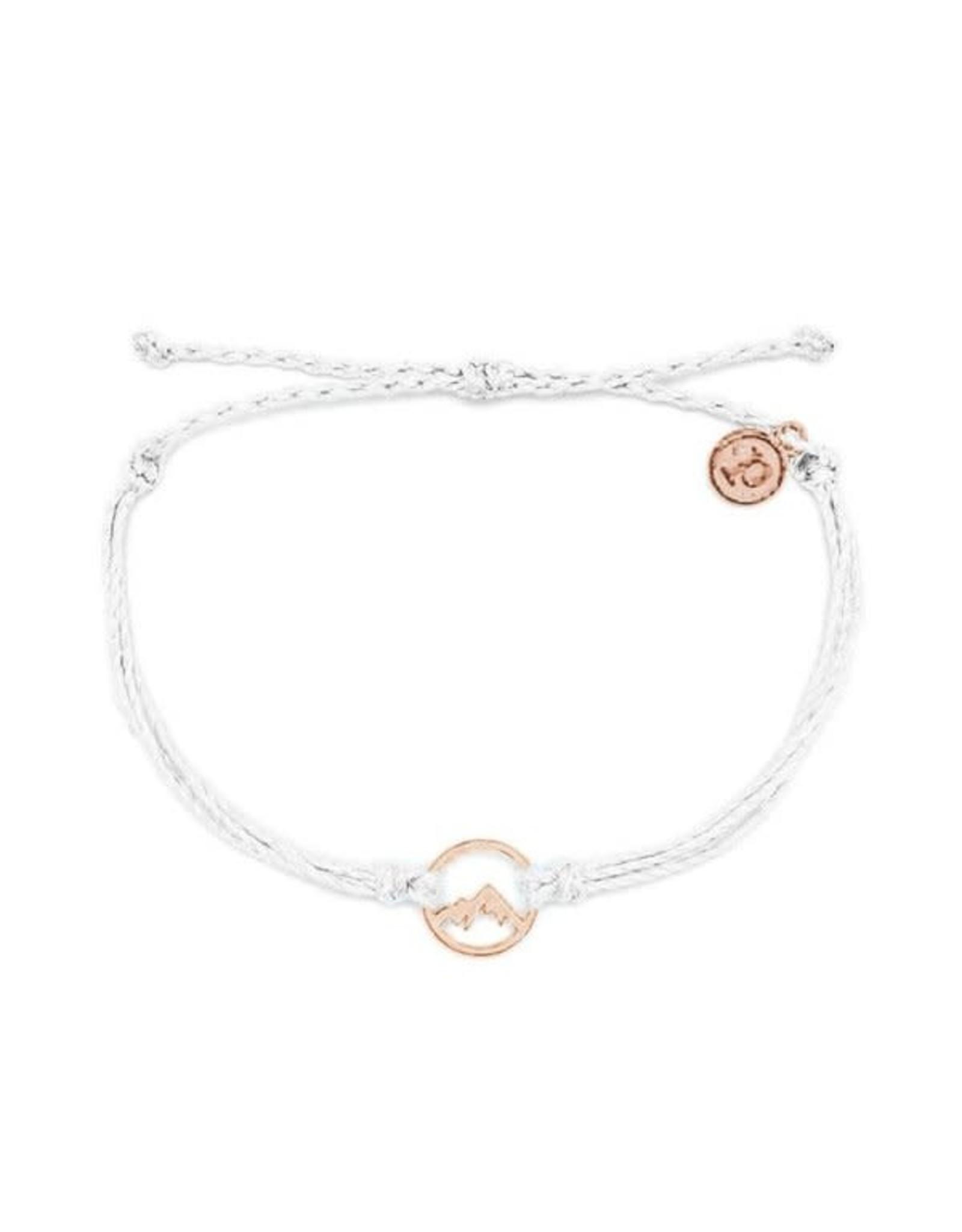 ROSE GOLD SIERRA Bracelet,  WHITE