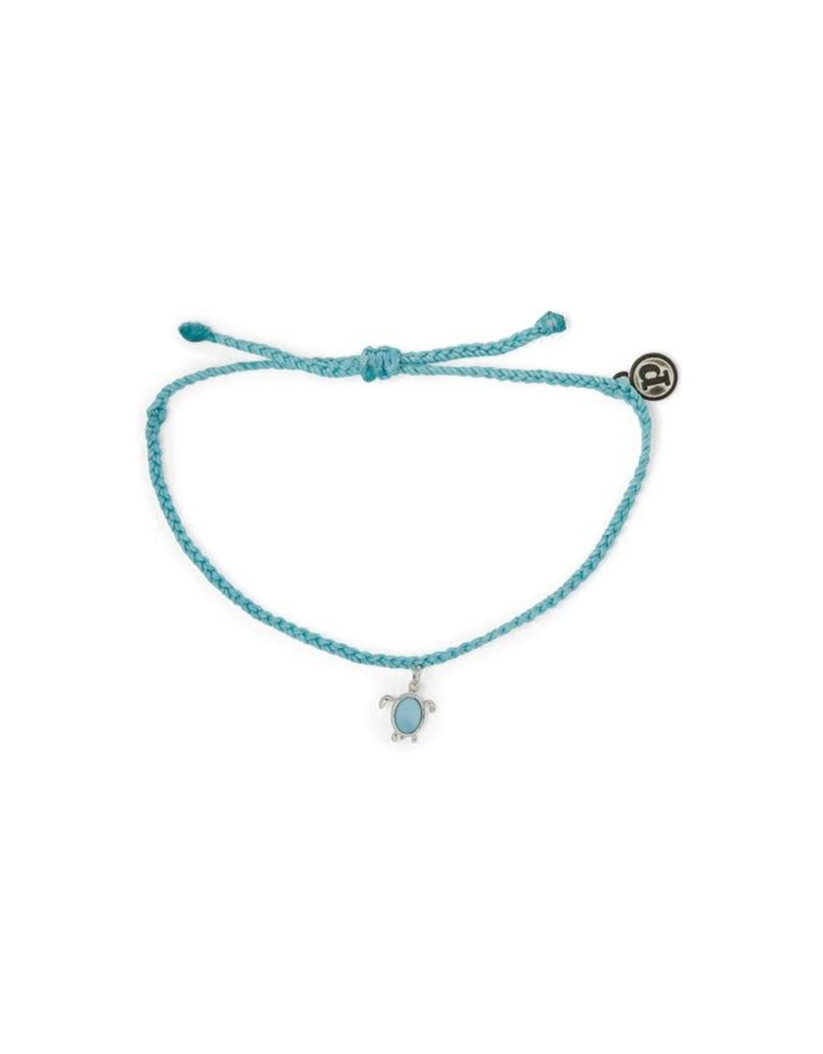 SILVER SEA TURTLE Bracelet, LIGHT BLUE
