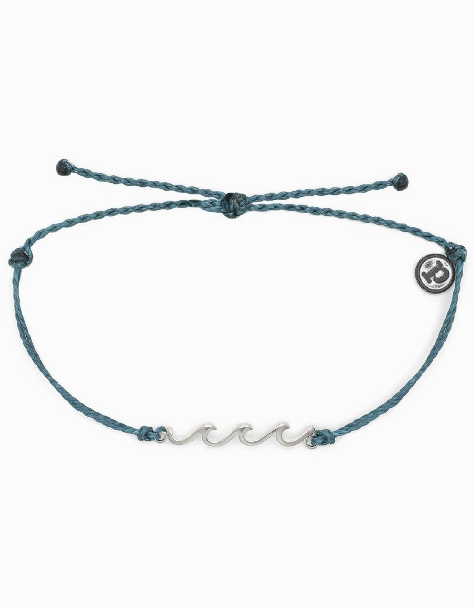 DELICATE WAVE Bracelet,  LIGHT BLUE GREEN