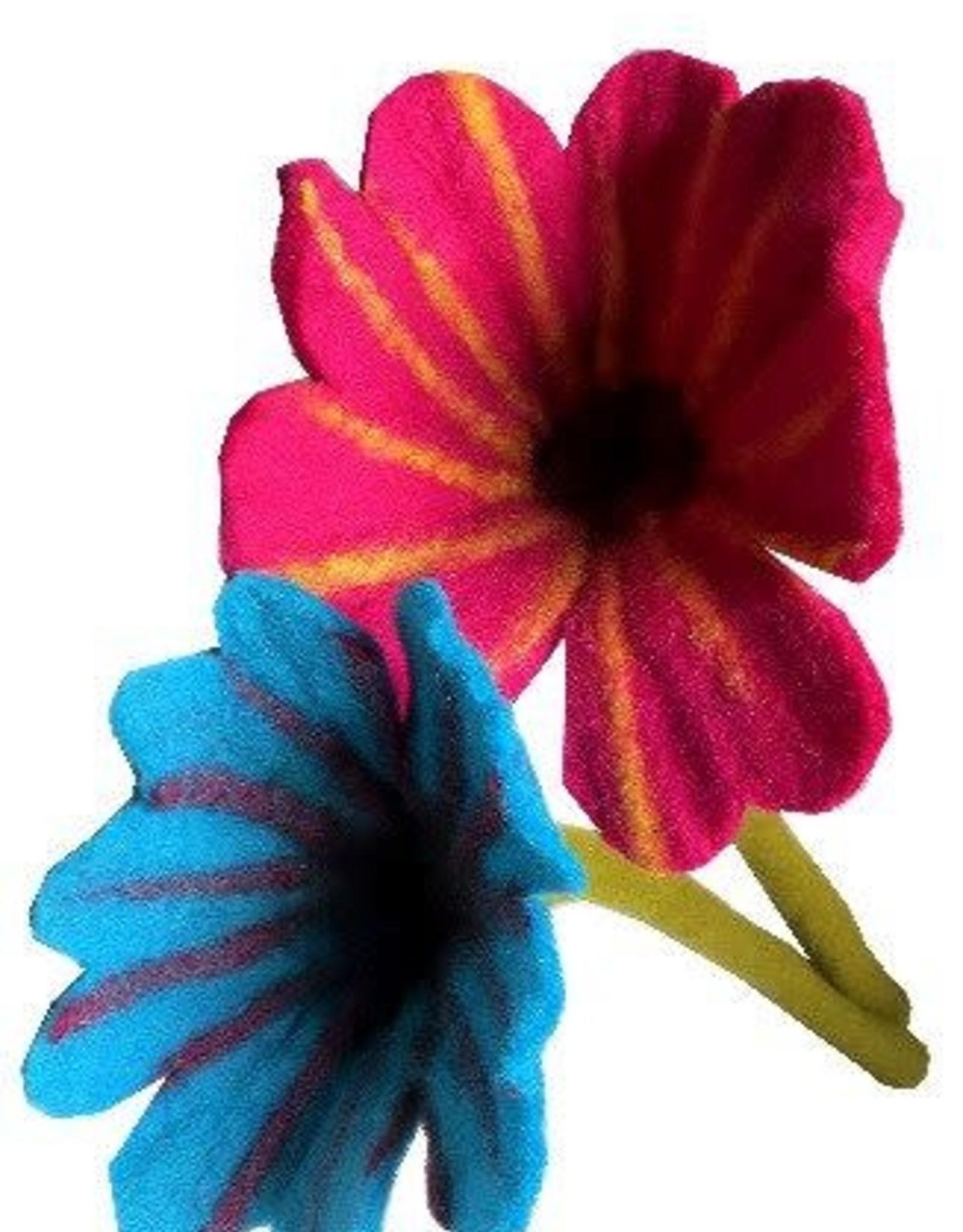 Nepal, Felt Flowers