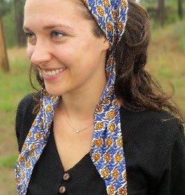 Recycled Sari Triangle Scarf