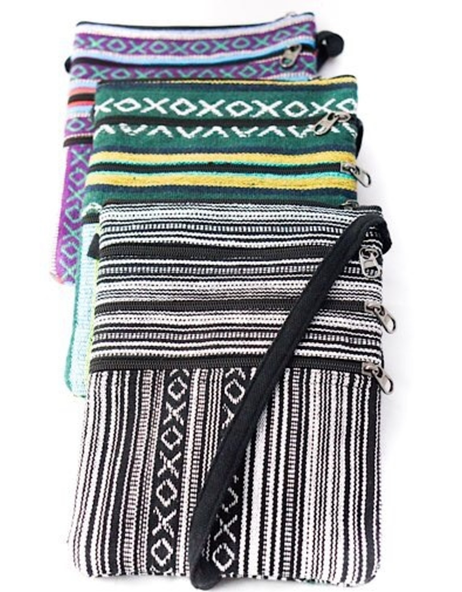 Gyari Cotton Passport Bag, Nepal