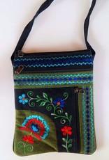 Nepal, Jari Embroidery Passport Bag