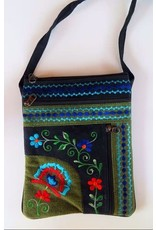 Jari Embroidery Passport Bag, Nepal