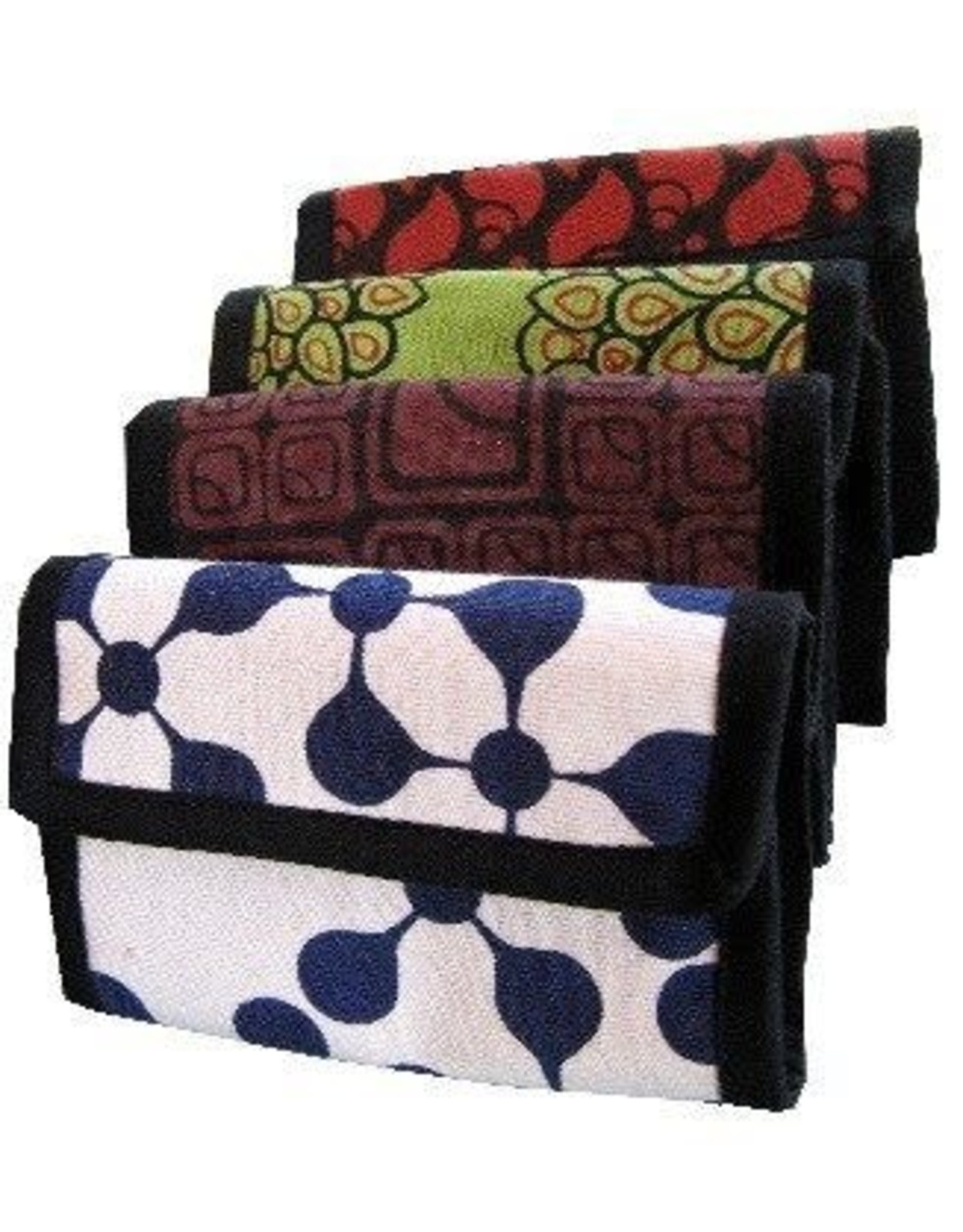 Cotton Trifold Wallet