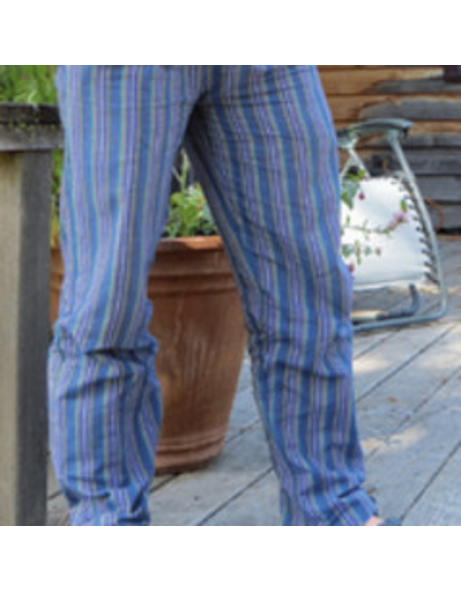 Stripe Unisex Pants Straight, Nepal