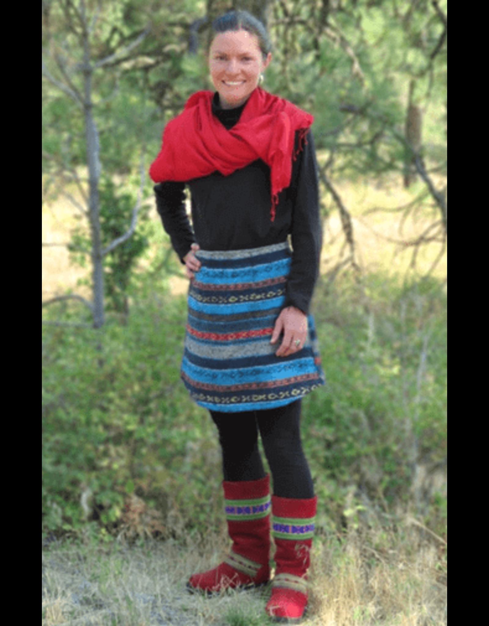 Gyari Cotton Fabric Skirt S, Nepal
