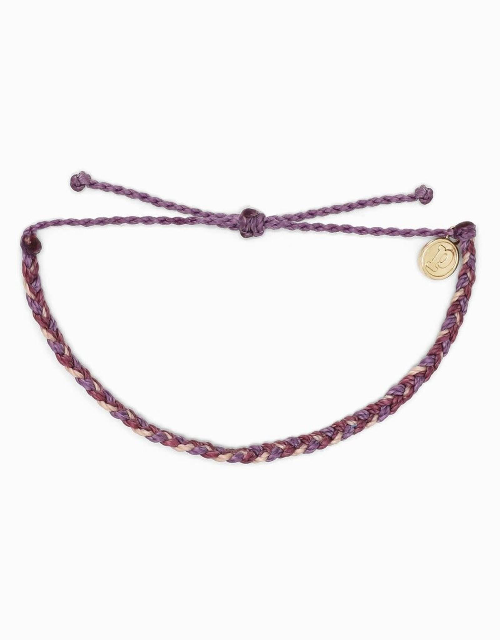 MINI BRAIDED MULTI Bracelet, PURPLE