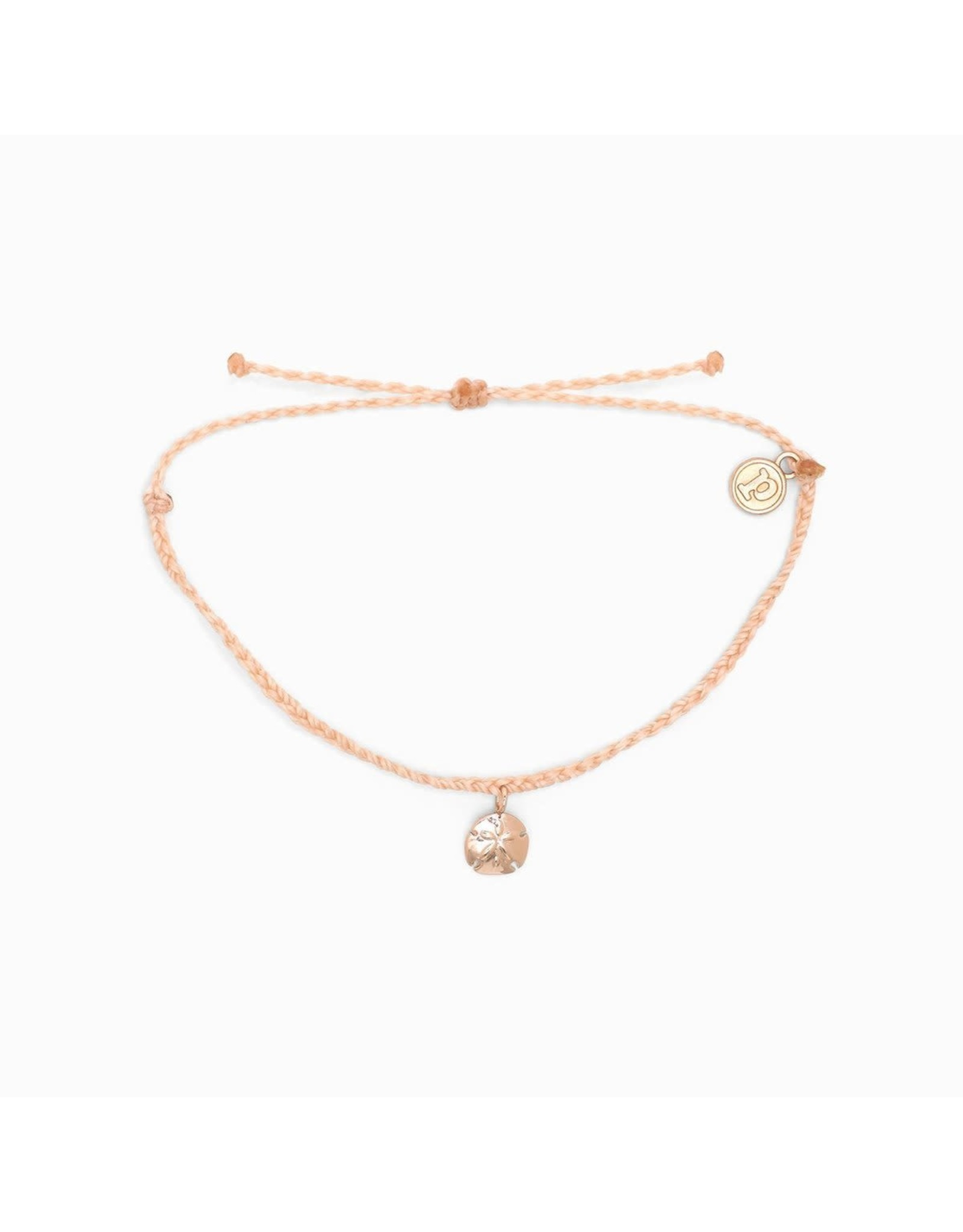 ROSE GOLD SAND DOLLAR Bracelet, BLUSH